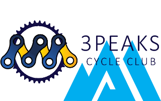 3 Peaks Cycle Club Logo